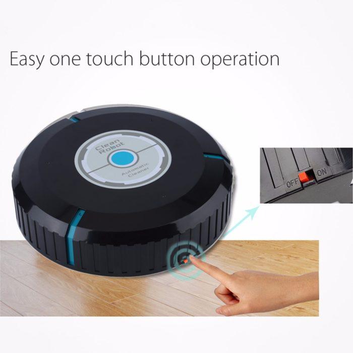 Robotic Floor Mop And Vacuum Cleaner