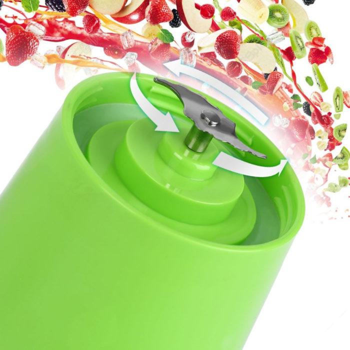 Portable Rechargeable Fruit And Vegetable Juicer Blender
