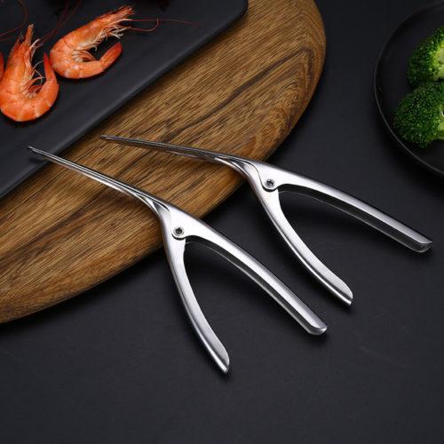 Shrimp Deveiner And Peeler Tool