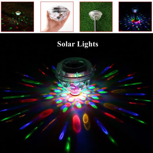LED Garden Pool Disco Party Lights