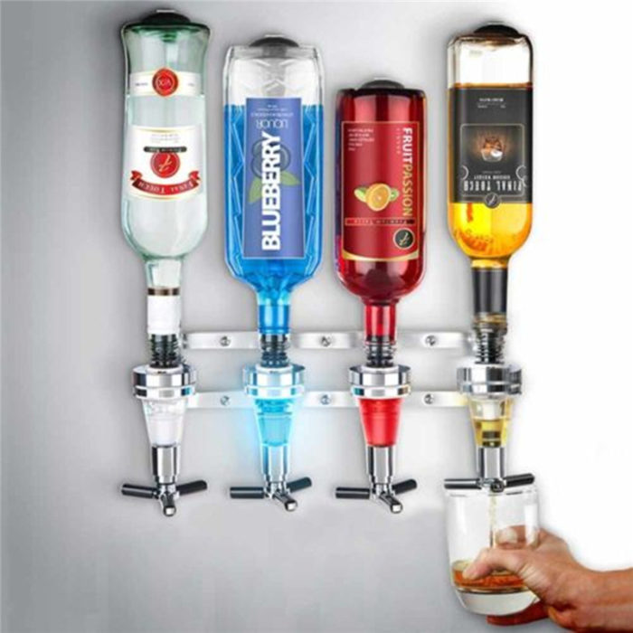 Wall Mounted Liquor Alcohol Drink Dispenser