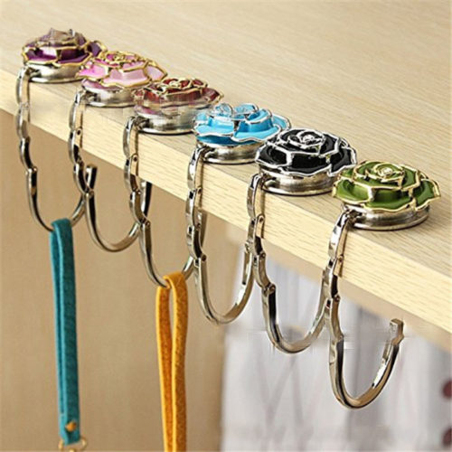 Flower Style Bag Purse Hanger