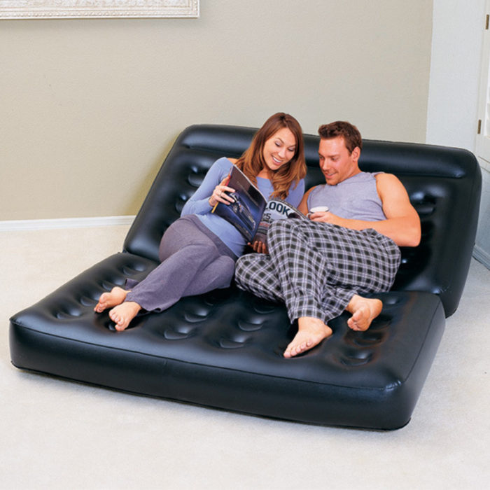 Inflatable Air Bed Mattress Couch Lounger