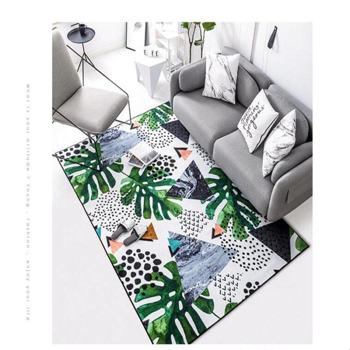 Living Room Coffee Table Carpet Flooring Rugs
