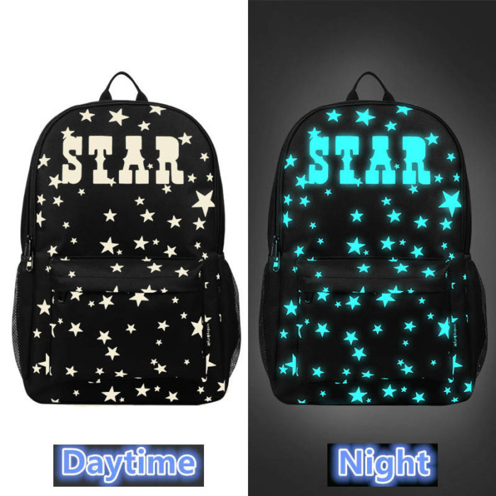 Glow-in-the-Dark and Anti Theft Backpack