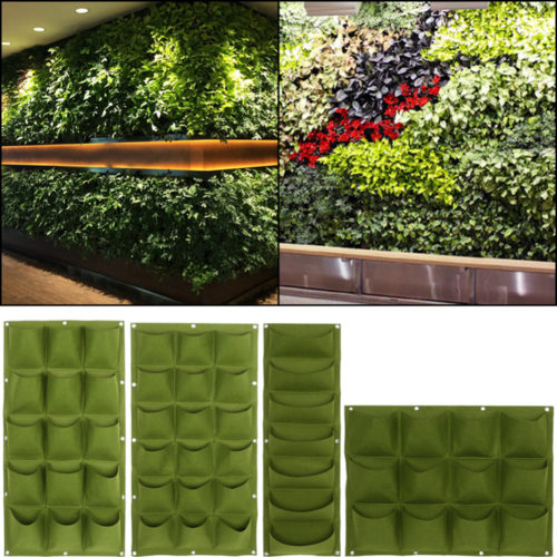 Vertical Garden Wall Fruit Vegetable Grow Bags