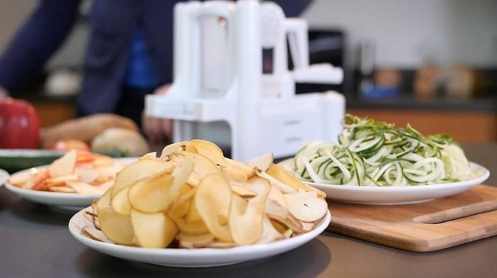 Zucchini Vegetable Pasta Spiralizer