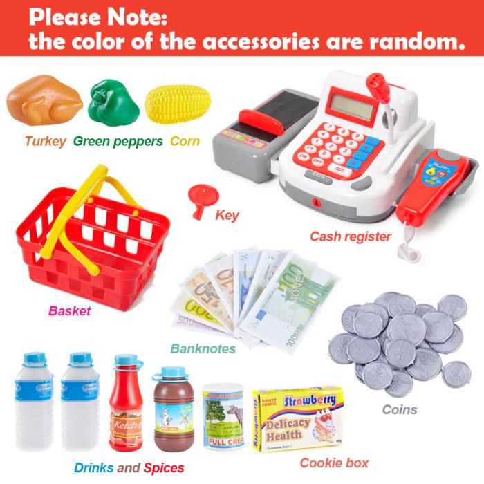 Pretend Play Cash Register Toy