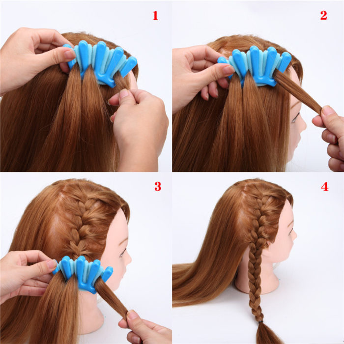 DIY Styling Hair Tools for Braiding