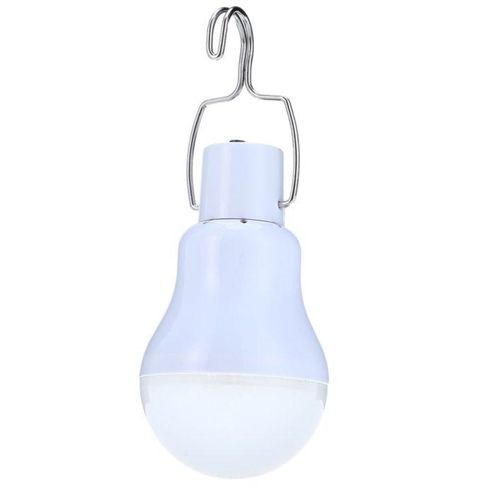 Outdoor LED Solar Powered Light Bulb