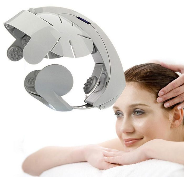 Portable Electric Head Massage Tool