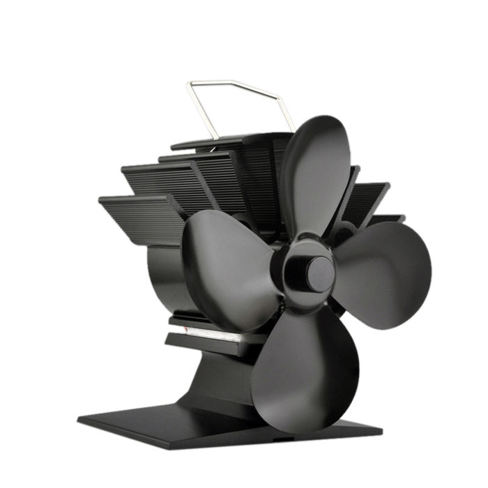 Non-Electric Eco Heat Powered Stove Top Fan
