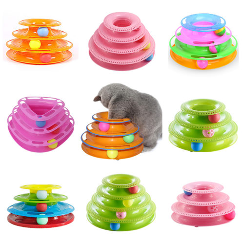 Cat Toy Tower of Tracks