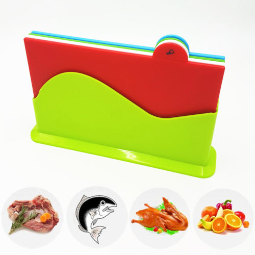 Set of 4 Kitchen Chopping Board Cutting Board