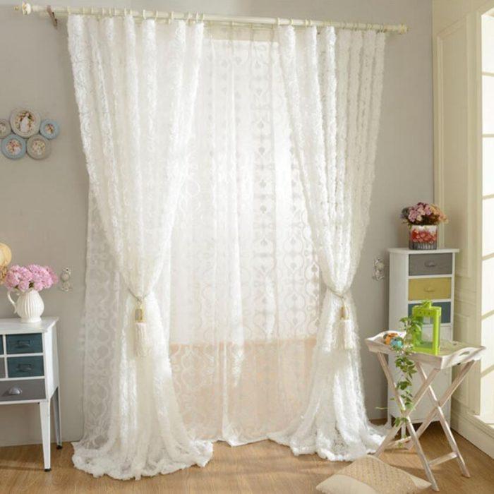 3-D Modern Design Living Room Curtain