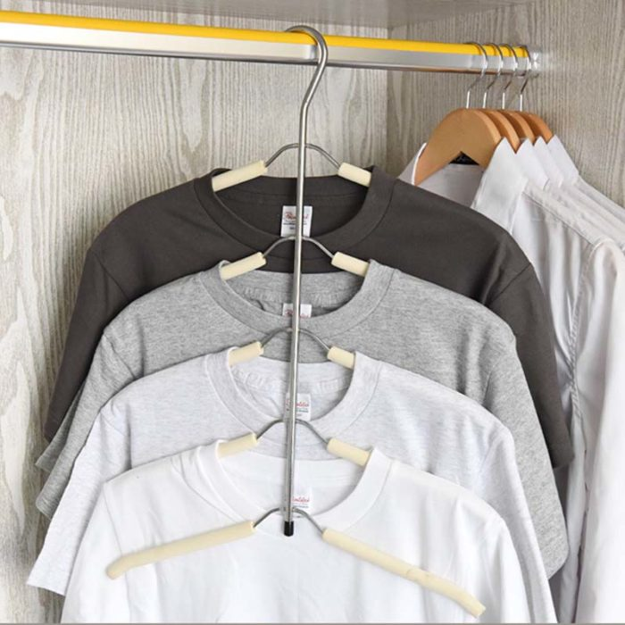 Stainless Steel Multi-Layer Metal Clothes Hanger