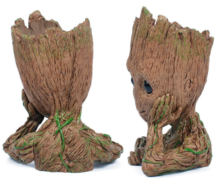 Decorative Indoor Garden Baby Groot Flower Pot