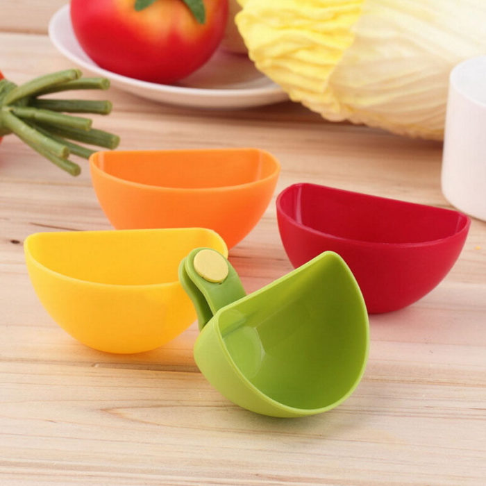 Colorful Clip On Dip Bowl Set