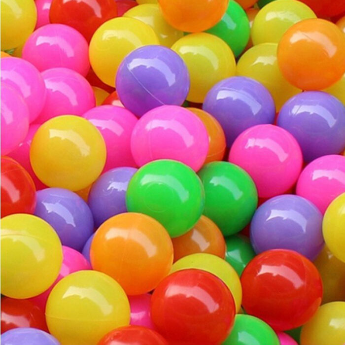 100pcs Soft Toy Plastic Balls for Kids