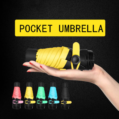 Ultra-Lightweight Compact Mini Travel Umbrella
