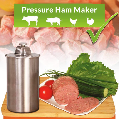 Stainless Steel Meat Ham Maker Press