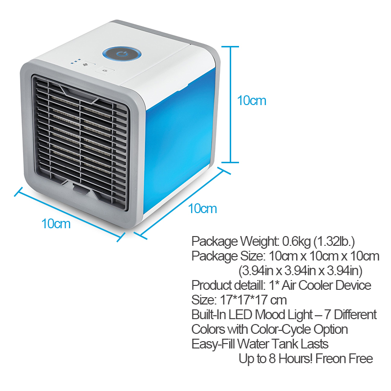Small Portable Cooling Units : Portable personal cooler mini air conditioning unit life