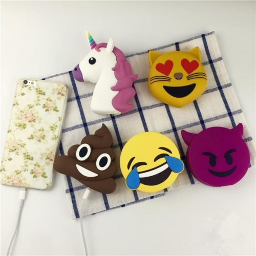 Cute Emoji Mobile Power Bank