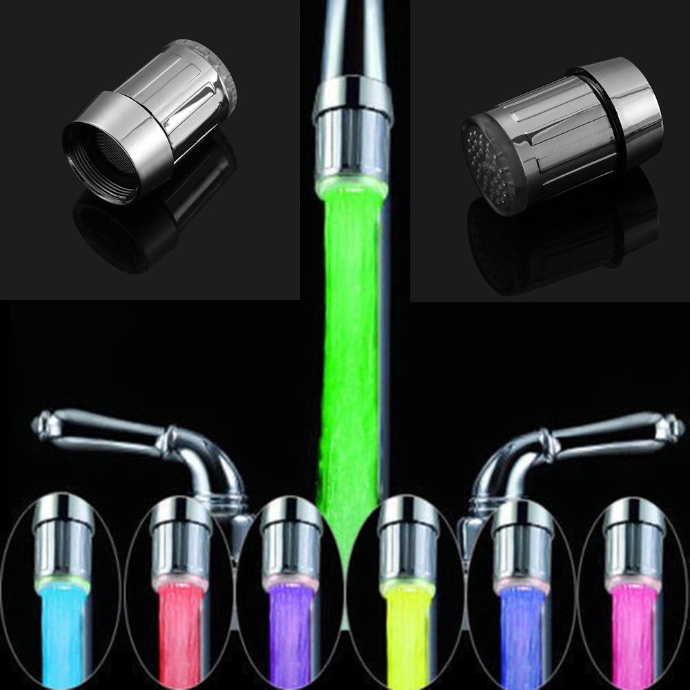 Led Faucet Aerator With Temperature Sensor Life Changing