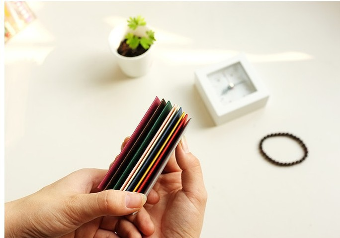 Small Colored Envelopes