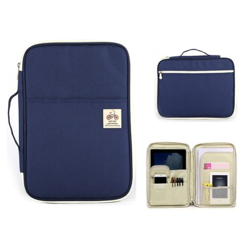 Plain Document Storage Bag Multifunctional