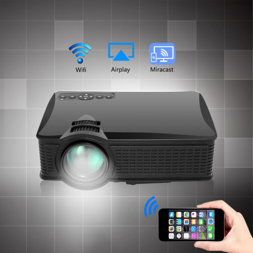 Mini Pocket Mobile Home Theater LED HD Projector