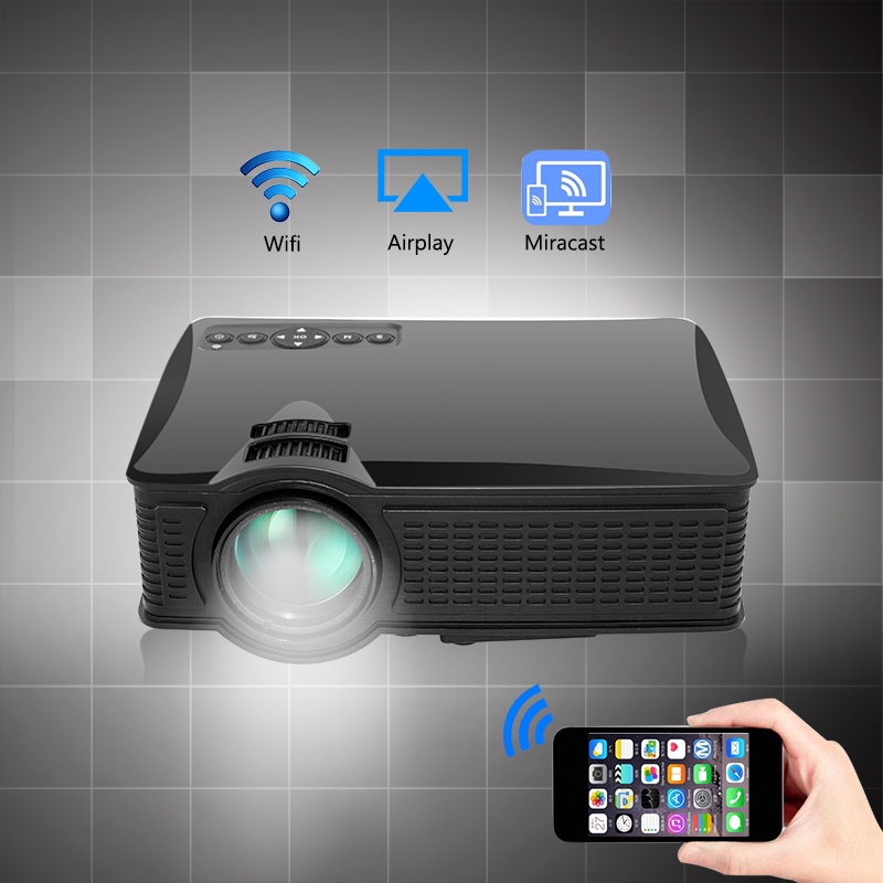 Mini Pocket Mobile Home Theater Led Hd Projector Life