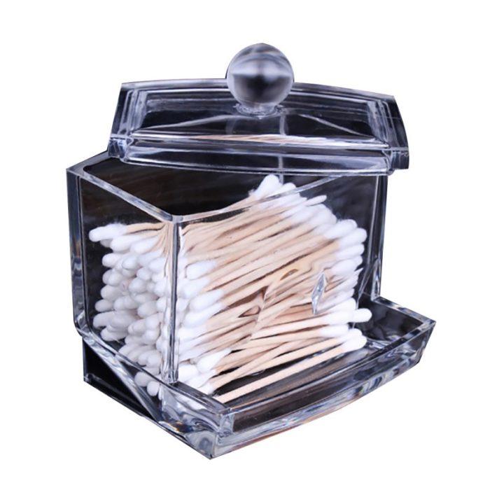 Cotton Swab/Pads Makeup Storage