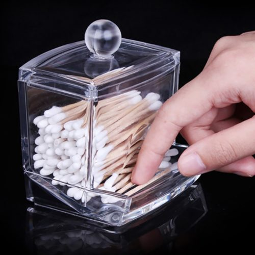 Cotton Swab/Pads Makeup Storage