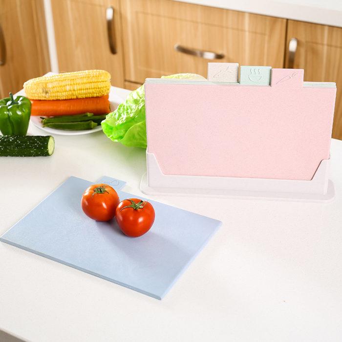 Anti-Bacterial Cutting Chopping Board Set