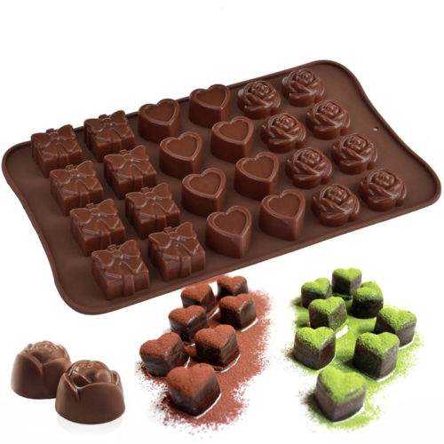 Reusable Silicone Chocolate Mold