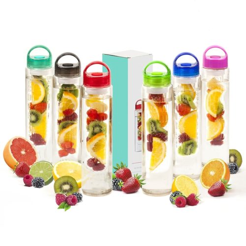 Flavored Fruit Infused Filter Water Bottle