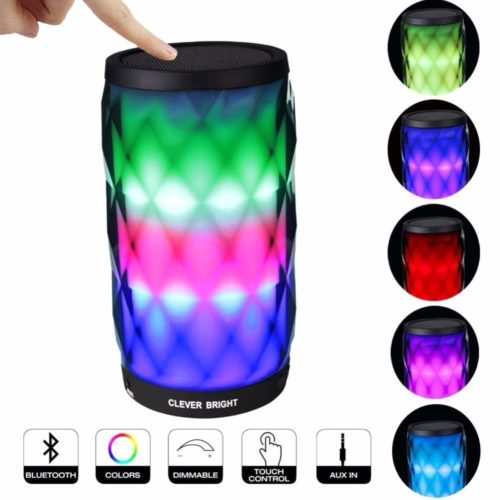 Portable Speakers LED Night Light