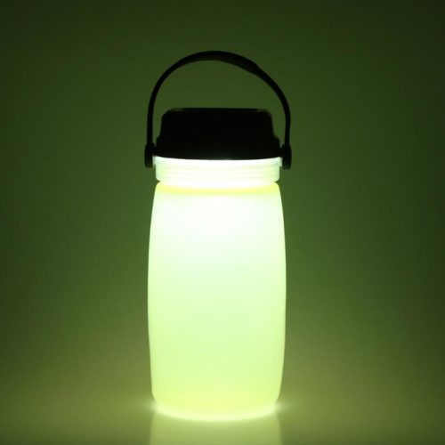 Portable Solar Powered Luminous Drinking Water Bottle