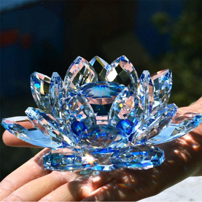 crystal flowers