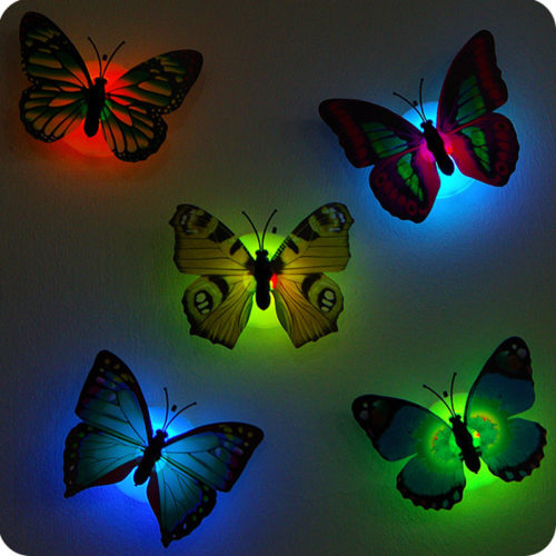 Unique Decorative Kids Nursery Wall Stick On Night Light