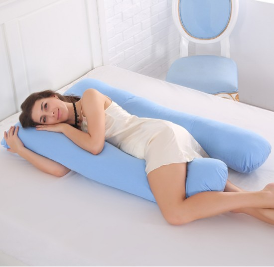 U Shaped Full Maternity Pregnancy Sleeping Body Pillow
