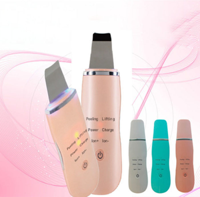 Skin Scrubber Ultrasonic Facial Device
