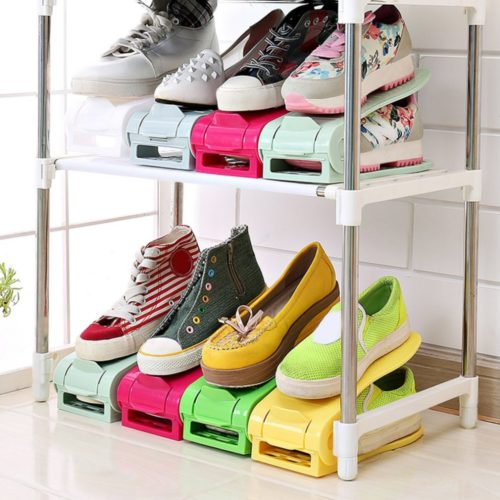 Stackable Shoe Holder Storage Organizer