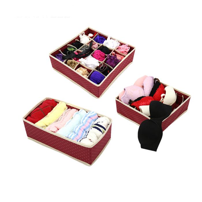 Non-Woven Fabric Underwear Organizer Storage Box