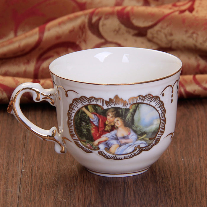 European Style Bone China Porcelain Tea Coffee Set