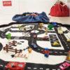 Portable Children's Toy Play Mat Storage Bag