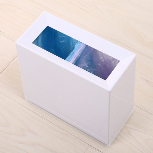 Dual Compartment Plastic Garbage Trash Can