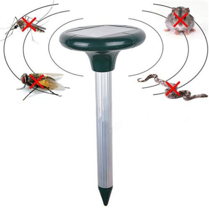 Ultrasonic Pest Repeller Solar Powered Pest Control
