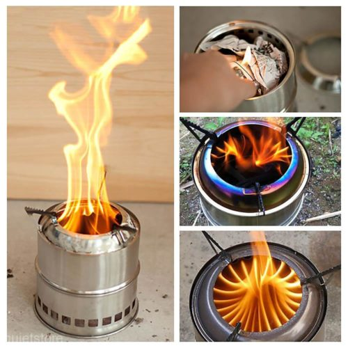 Portable Camping Small Wood Burning Stove